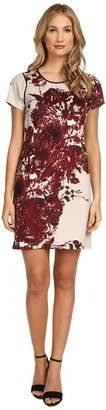 Andrew Marc Deep V-Neck Sleeveless Sheath Dress MD4K9441 Women's Dress