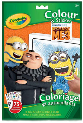 Crayola Despicable Me Colour and Sticker Book