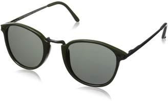 A. J. Morgan A.J. Morgan Castro Round Sunglasses