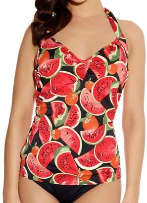 Freya 3209 Watermelon Underwired Halterneck Bikini Tankini Top