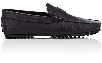 Tod's Men's Leather Penny Drivers - Black