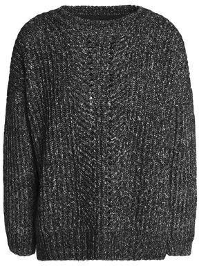Charli Mélange Cotton-Blend Sweater