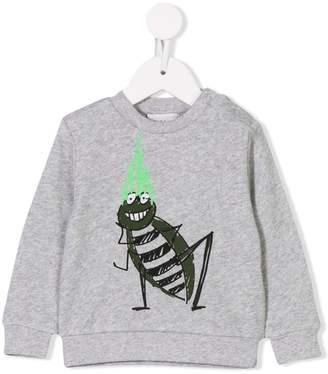 Stella McCartney bug print sweatshirt