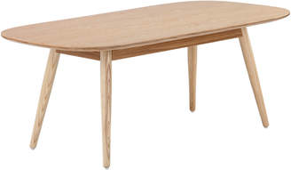 Webster Temple & Ria Ash Rounded Coffee Table