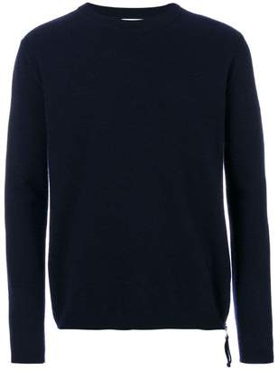 Laneus zip detail jumper
