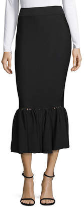 Jonathan Simkhai Perforated Knit Midi Skirt