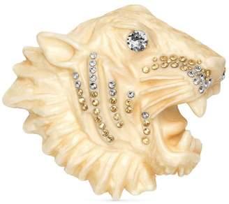 Gucci Rajah brooch in resin