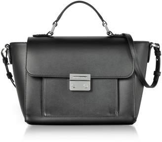 Emporio Armani Smooth Leather Top-handle Shoulder Bag