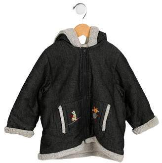 Catimini Girls' Embroidered Zip-Up Jacket