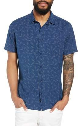 Rails Carson Regular Fit Floral Print Sport Shirt