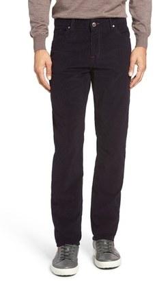 Men's Bugatchi Slim Fit Corduroy Pants $159 thestylecure.com