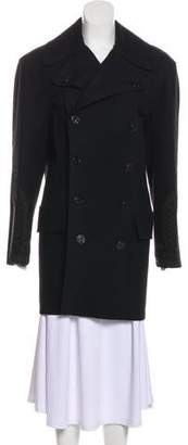 Jean Paul Gaultier Embroidered Virgin Wool Coat w/ Tags