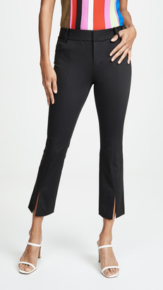 Alice + Olivia Stacey Slit Ankle Pants