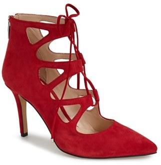 Women's Vince Camuto 'Bodell' Lace Up Pump $128.95 thestylecure.com