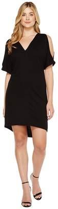 Lanston Cold Shoulder Caftan Dress Women's Dress