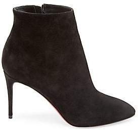 Christian Louboutin Women's Eloise 85 Suede Booties