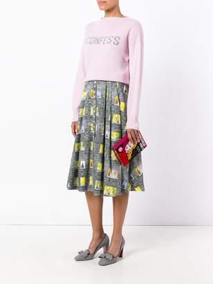 Olympia Le-Tan Olympia Le Tan I confess cashmere sweater