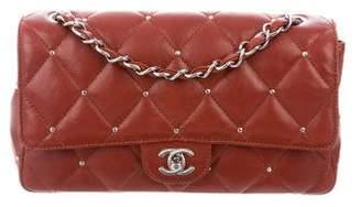 Chanel Lambskin Studded Flap Bag