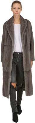 Simonetta Ravizza Zoe Hearts Mink Fur Coat