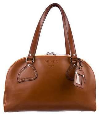 Prada Vitello Bowling Bag