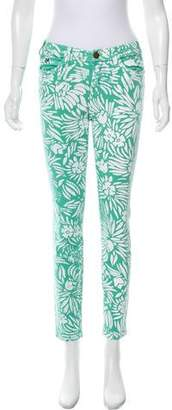 Current/Elliott DVF Loves Print Mid-Rise Jeans w/ Tags