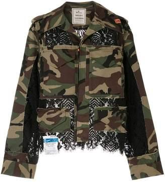 Puma Maison Yasuhiro camo denim jacket