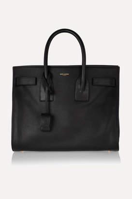 Saint Laurent Sac De Jour Small Leather Tote - Black