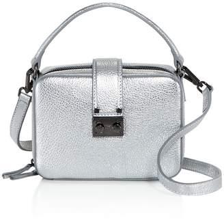 Aqua Tada Square Leather Crossbody - 100% Exclusive