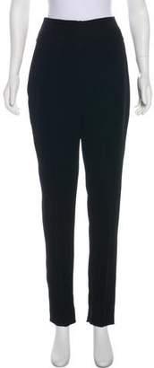 Alexandre Vauthier High-Rise Straight-Leg Pants