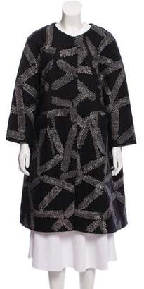 Dries Van Noten Embroidered Wool Coat