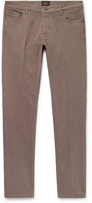 Tod's Slim-Fit Stretch-Cotton Twill Trousers