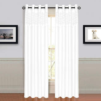 Asstd National Brand Cambridge Home Alla Grommet-Top Curtain Panel