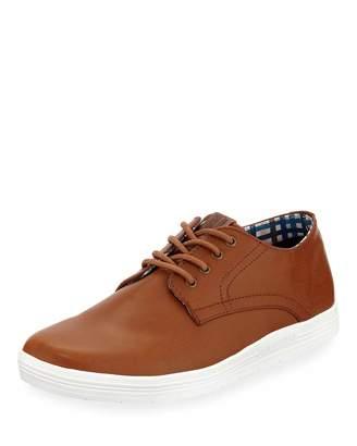 Ben Sherman Men's Payton Plain Toe Oxford Sneakers, Tan
