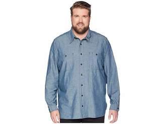 Polo Ralph Lauren Big Tall Chambray Utility Sport Shirt Men's Clothing