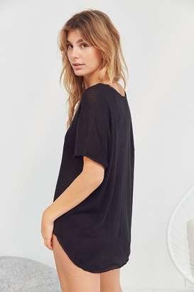 Out From Under Frankie Oversized Thermal Tee