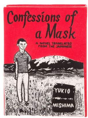 Olympia Le-Tan Confessions of a Mask Book Clutch Red Confessions of a Mask Book Clutch