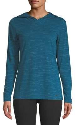 Nike Hooded Long-Sleeve Tee