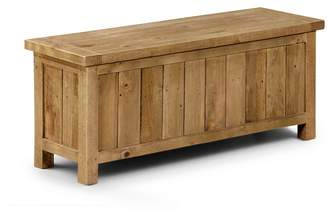Debenhams JULIAN BOWEN Pine 'Whistler' Storage Bench