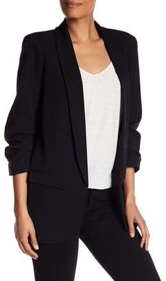 Daniel Rainn DR2 by Boyfriend Ruched Sleeve Blazer