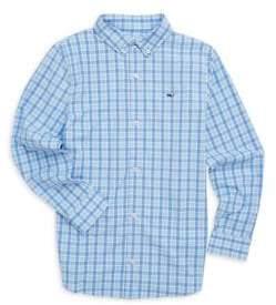 Vineyard Vines Little Boy's& Boy's Whale Shirt