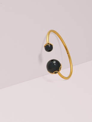 Kate Spade pearlette large wire cuff