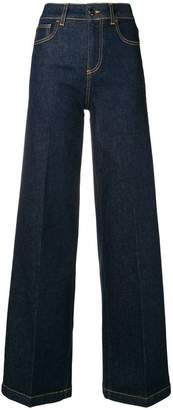 Semi-Couture Semicouture Oliver wide-leg jeans