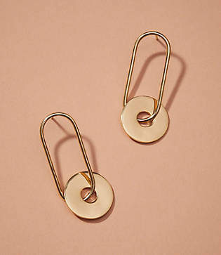 Lou & Grey Nectar Nectar Circle Link Earrings