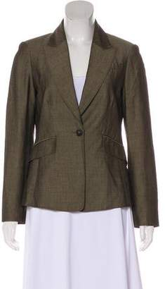 3.1 Phillip Lim Peak-Lapel Structured Blazer