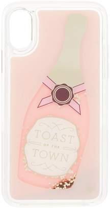 Kate Spade Champange Glitter iPhone 8 Cover