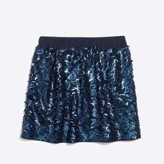 J.Crew Factory Girls' sequin skirt