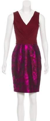 Jason Wu Silk Brocade Dress