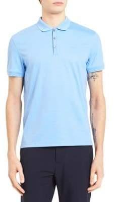 Calvin Klein Solid Cotton Polo Shirt