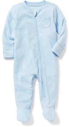 Zip-Front One-Pieces for Baby $14.94 thestylecure.com