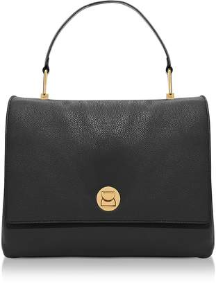 Coccinelle Liya Large Genuine Leather Satchel Bag